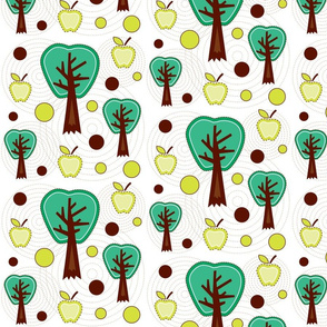 Apple Trees & Dots