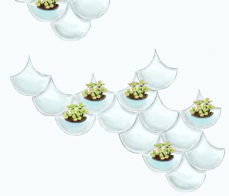 Wall Flowers fabric by dorolimited on Spoonflower - custom fabric