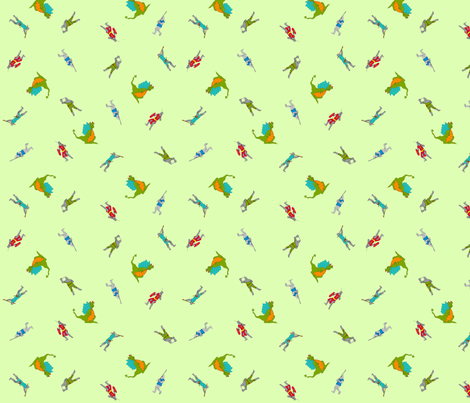 dragon_slayer fabric by jojoebi_designs on Spoonflower - custom fabric