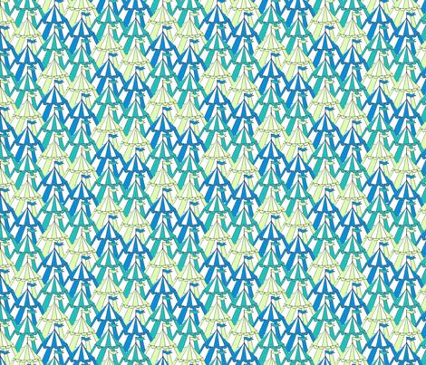 pavillions_aqua_pale_green fabric by jojoebi_designs on Spoonflower - custom fabric