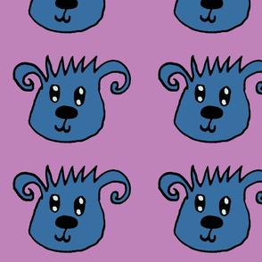 Curlylee purple