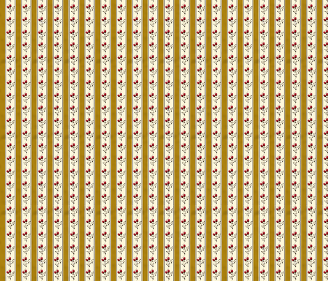 goldenrosestripe fabric by heidikaether on Spoonflower - custom fabric