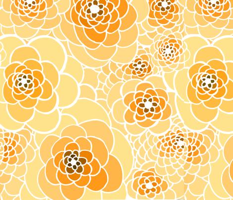 Virginia Rose fabric by katty on Spoonflower - custom fabric