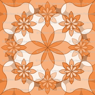 Sweet Garlands - Peach