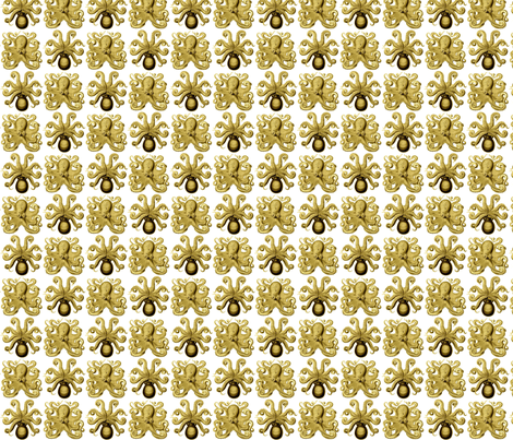 Golden Arms fabric by ashworth on Spoonflower - custom fabric