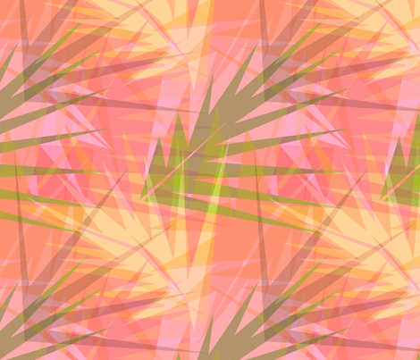 Tropical Fronds fabric by cricketnoel on Spoonflower - custom fabric