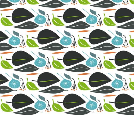 leaf_fall1 fabric by antoniamanda on Spoonflower - custom fabric