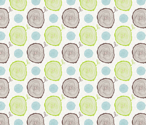 NURTURE_NATURE fabric by webicka on Spoonflower - custom fabric