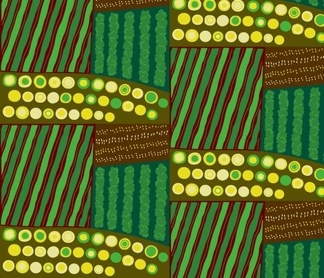 sow well fabric by sewinga on Spoonflower - custom fabric