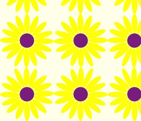 Daisy Dot fabric by angela_s on Spoonflower - custom fabric