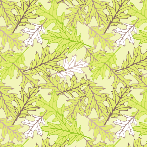 Leaf-Cascade fabric by jmckinniss on Spoonflower - custom fabric
