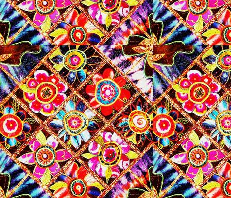 Flora Mexicana fabric by frances_hollidayalford on Spoonflower - custom fabric
