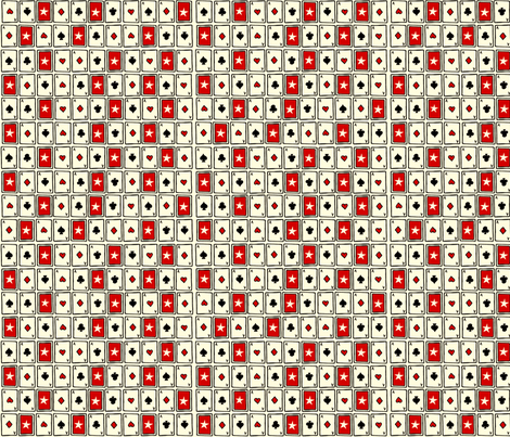 52 Card Pick Up fabric by brightonbelle on Spoonflower - custom fabric