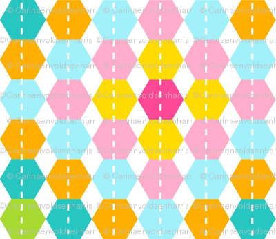 Stripy Hexagon