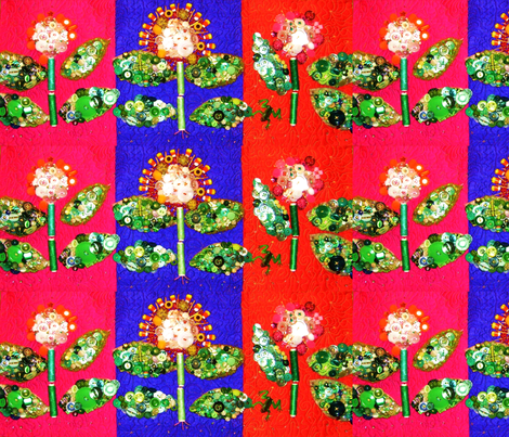 Garden Row fabric by frances_hollidayalford on Spoonflower - custom fabric