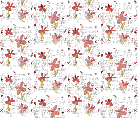 appreciate_friendsw_flowers2 fabric by storyline on Spoonflower - custom fabric