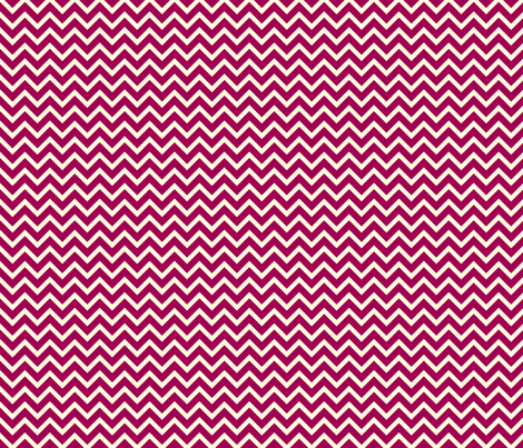 berry chevron fabric by amybethunephotography on Spoonflower - custom fabric