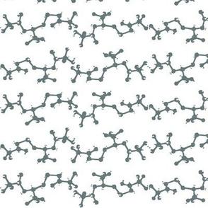 saltlab sea-grey solid double chain