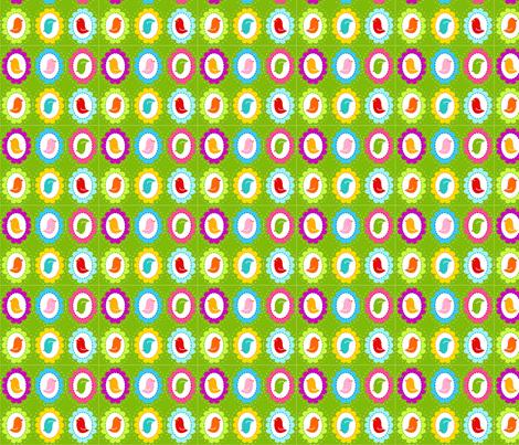 Bird Frames Green fabric by carinaenvoldsenharris on Spoonflower - custom fabric