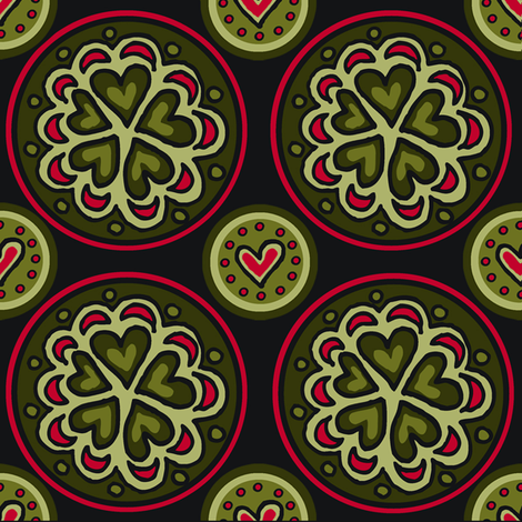 frog_prince fabric by emilyclaire on Spoonflower - custom fabric