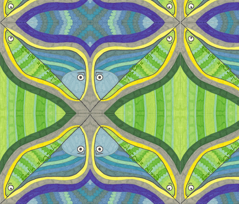 feelin_sluggish2-ed fabric by jkayep2 on Spoonflower - custom fabric