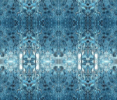Ice Palace fabric by whimzwhirled on Spoonflower - custom fabric