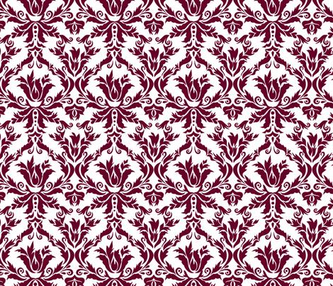 damask_wedding_fabric fabric by renule on Spoonflower - custom fabric