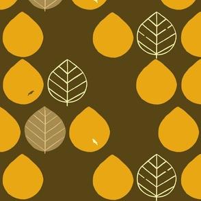 Forest Motif (orange)