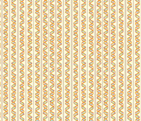 DNA Stripes fabric by nicholeann on Spoonflower - custom fabric