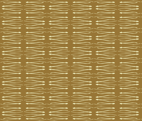 Pine needle toffee fabric by katrina_whitsett on Spoonflower - custom fabric