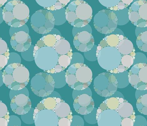 Apollonian gasket fabric by tilde on Spoonflower - custom fabric