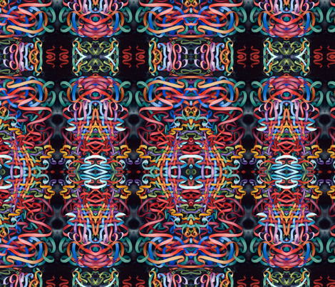 Ribbon Weave fabric by helenklebesadel on Spoonflower - custom fabric