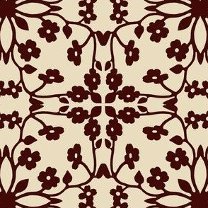 antiqueddogwoodfabric