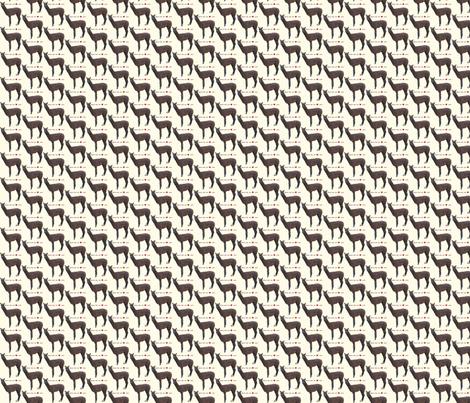 Alpacas Warm Your Heart fabric by alpaca_lady on Spoonflower - custom fabric