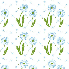 Dandelion Delirium-Light Blue