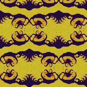 Rorschach Babies- Yellow