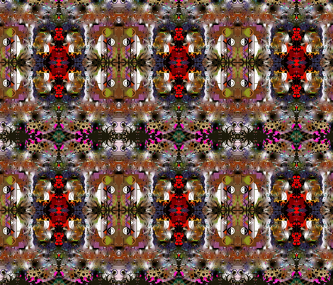 X-treme Jazz (large) fabric by whimzwhirled on Spoonflower - custom fabric