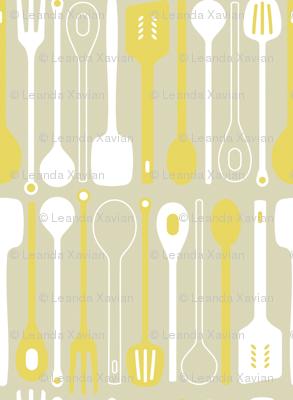 Spooner in mustard