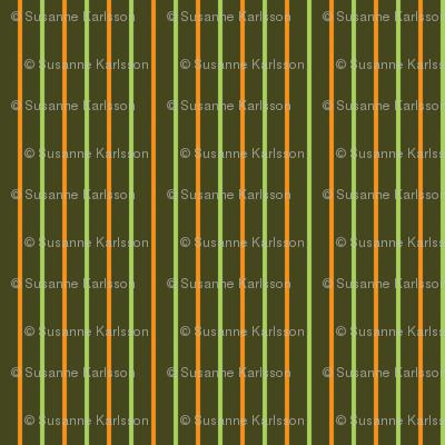 Green and orange stripes