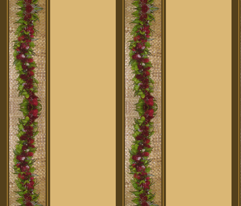 LehuaBorder02 fabric by leilehua on Spoonflower - custom fabric