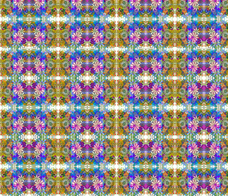 Flower Bomb fabric by whimzwhirled on Spoonflower - custom fabric