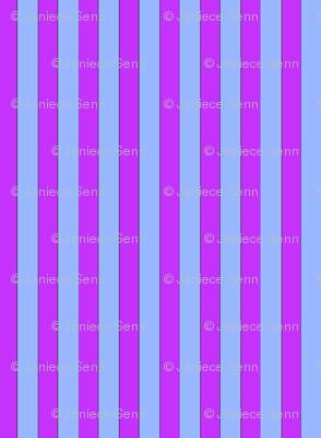 Magenta and light blue stripes