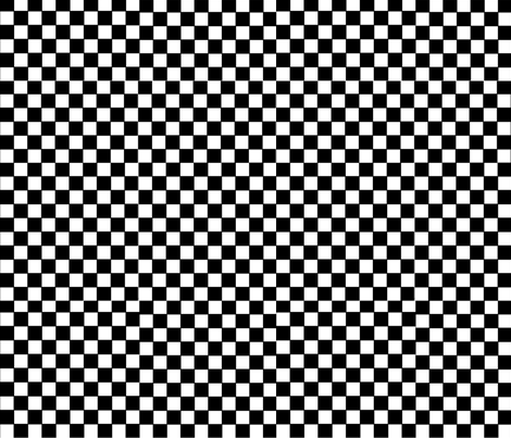 Small Checker Board Pattern fabric by whimzwhirled on Spoonflower - custom fabric
