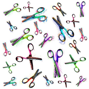 Scissors in Space