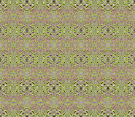 Green Tea fabric by jellybeanquilter on Spoonflower - custom fabric