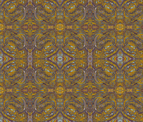 Tut In Paris fabric by jellybeanquilter on Spoonflower - custom fabric
