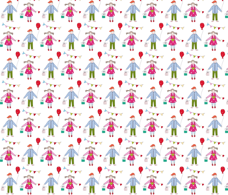 Partykids fabric by syko on Spoonflower - custom fabric