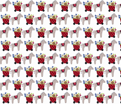 Flowers for you fabric by syko on Spoonflower - custom fabric