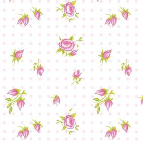 Mini Roses white