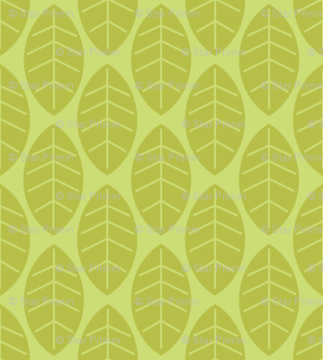 leaves in lime